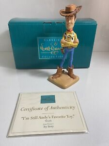 WDCC Toy Story Woody I'm Still Andy's Favourite Toy Figurine Sealed Certificate