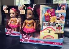 Baby Alive Dance Class DOLL Long Brown Hair DRINKS WETS Accessories Interactive