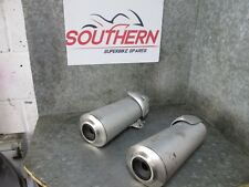 DUCATI MONSTER 696 2009 EXHAUST SILENCERS (51D)