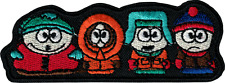 39223 South Park Cartman Kenny Kyle Stan Cartoon Television Sew Iron On Patch