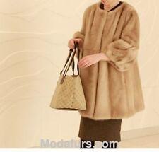 Women's Sz 6/8 Brand New  Canadian Mink Fur Coat