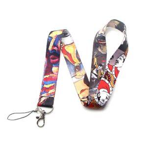 Freddie Mercury Lanyard | Queen ID Badge Holder Keychain Bohemian Rhapsody Gifts