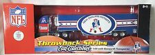 NEW ENGLAND PATRIOTS THROWBACK SERIES 2006 TRACTOR TRAILER DIECAST TRUCK 1:64