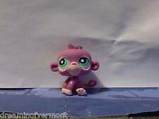 Littlest Pet Shop Purple Monkey with Blue Eyes #1493 New Loose