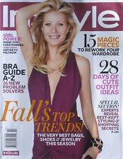 GWYNETH PALTROW BY DIANE VON FURSTENBERG October 2012 In Style Magazine