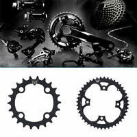 Bike Crank 104BCD Round 22T/44T Chainring Crankset Plate For 9 Speed Bicycle LJ
