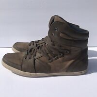 Kenneth Cole Reaction Mens high top fashion sneaker shoe SZ 10
