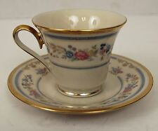 NICE LENOX RALEIGH FOOTED CUP SAUCER SET FREE SHIPPING!