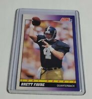 R40,439 - BRETT FAVRE - 1991 SCORE - ROOKIE CARD - #611 - PACKERS - HALL OF FAME