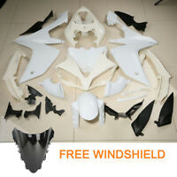 Unpainted Fairing Body Work Kit Windshield Fit Yamaha YZF R1 YZF-R1 2007-2008 07