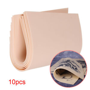 Pack of 10 20x15cm Synthetic Learn Blank Tattoo Fake False Practice Skin
