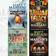 Ben Hope Collection By Scott Mariani 4 Books Set The Forgotten Holocaust ,New