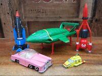 Thunderbirds Matchbox Die Cast Rescue Pack Thunderbird 1 2 3 4 FAB 1 - 1992