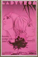 LADYTRON 2006 Gig POSTER Portland Oregon Concert