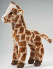 "GINGER giraffe Douglas 8"" tall zoo stuffed plush animal toy brown white"