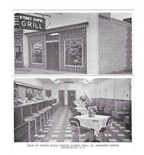 Charleston SC Byrnes Downs Grill Interior Exterior St Andrews Parish 2 Postcards