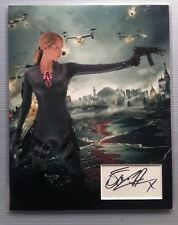 Sienna Guillory Resident Evil Signed 14x11 Display AFTAL
