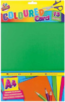 Brand New Pack of A4 Coloured Card 15 Sheets 4 Colours 160gsm FAST DISPATCH