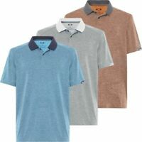 OAKLEY GOLF O-HYDROLIX™ CONTOUR SHORT SLEEVE MENS GOLF POLO SHIRT NOW 55% OFF