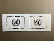 UNITED NATIONS X 2 PRESENTATION FOLDERS 1978, 1980 (GENERAL ASSEMBLY, WOMEN)