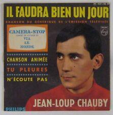 Caméra Stop 45 tours ORTF Jean-Loup Chauby