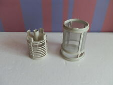 Used Whirlpool Prima Dishwasher 2 Part Food Filter trap