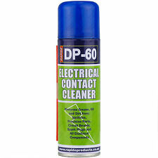 2 x 200ml Electrical Contact Cleaner Switch Clean Aerosol Spray Can Dirt Remover