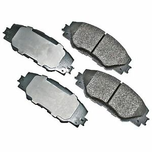Front Brake Pads for TOYOTA Toyota Matrix 09-13 Rav4 06-14 Premium Brake Pads