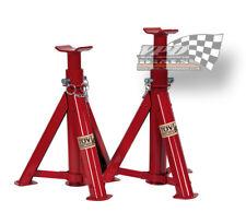 Axle Jack Stands 2 Ton Folding Pair/Set of Two/2 car caravan vehicle garage
