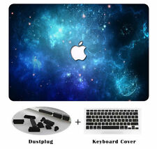 """Hard Case Shell Keyboard Cover Dust Plugs For Macbook Pro 13/15"""" Air 11/13"""" PN"""