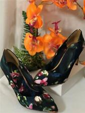 Ted Baker London Charmesa Floral Satin Pumps Heels Multicolor Sz EU 39.5 / US 9