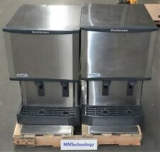 Lot Of 2 Scotsmann Icemaker Hid525a 1a Compressor Ice Dispenser Parts
