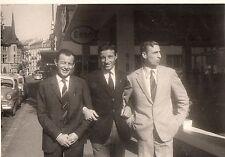 anni '60 vecchia fotografia JUVENTUS CASTANO con dirigenti ??