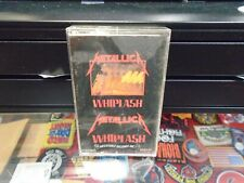 Metallica Whiplash (Cassette Tape) Megaforce Records Thrash Speed Metal