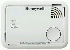 C02 Honeywell    XC100 carbon monoxide detector Alarm 10 year exp 2028 co2