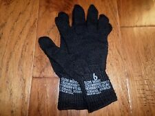 MILITARY ISSUE D3A COLD WEATHER GLOVE LINERS 70% WOOL 30% NYLON SIZE 6 X- LARGE