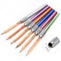 2pcs School Holder Stationery Pencil Extender Art Writing Tool Drawing Supplies