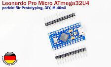 Leonardo Pro Micro ATmega32U4 Arduino kompatibel 16MHz für Prototyping DIY
