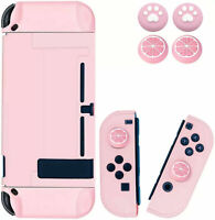 Cute Pink Game Console Case Shell Cover For Nintendo Switch Joy-con Joystick