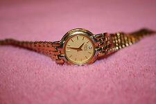 Vintage Ladies Gold-tone Caravelle by Bulova Watch