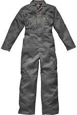 Mens Dickies Redhawk Coverall Overalls Boiler Suit WD4839 - Zip Front