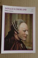 (S29) STARFILMKARTE - Donald Sutherland - Fellinis Casanova