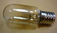 Glühlampe E17 E18 25W klar Röhrenlampe Nähmaschinenlampe Nachtlicht 25 x 60 mm