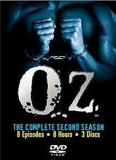 Oz - The Complete Second Season (DVD, 2003, 3-Disc Set Three Disc Boxed Set) NEW