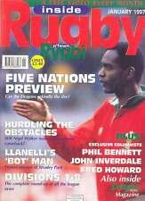 Inside RUGBY Jan 1997 rivista britannica cinque nazioni Cina Inghilterra NZ barbari