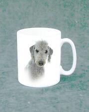 Tea/Coffee Mug - white with Bedlington Terrier  Dog Design
