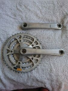 Used Shimano Deore DX (MT60) Chainset 28/38/48 SG 175mm Retro Vintage MTB