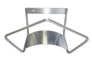 Hose hanger wall mount stainless steel, garden, irrigation, industrial holder