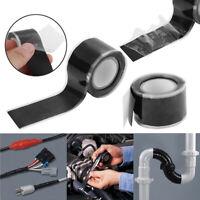 Super Strong Waterproof Stop Leak Seal Repair Tape Self Fiber Fix Adhesive T TP