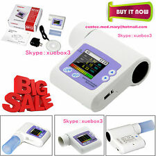 SP10 Handheld Spirometer Lung Check Vital capacity,Pulmonary Function,PCsoftware